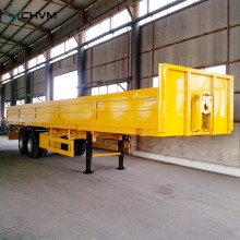 2Axles Fence Cargo Semi Trailer