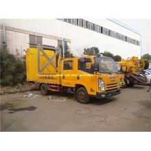 Caminhão JMC equipado com uma almofada importada para evitar acidentes