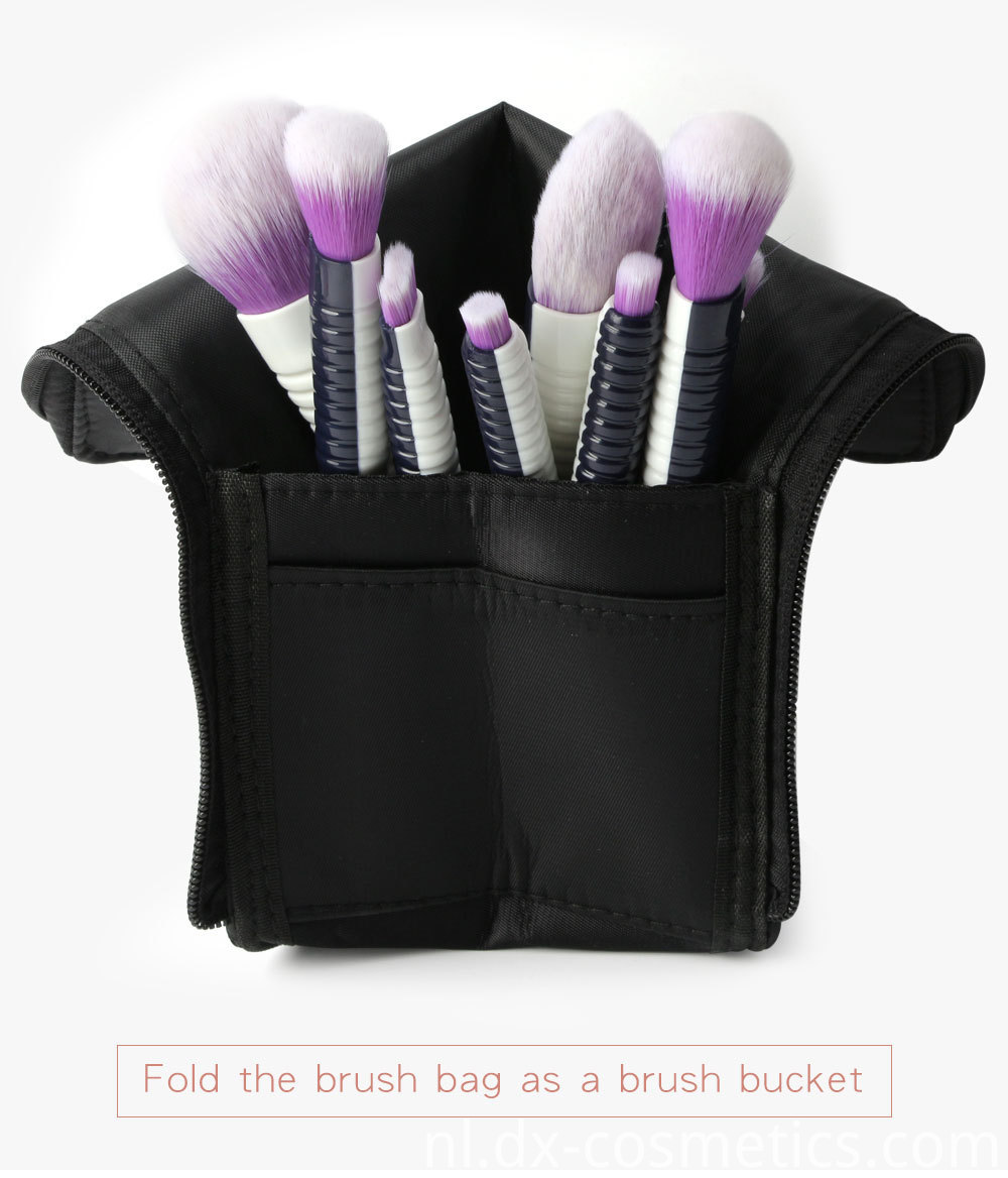 9 PCS Makeup Brushes Set 8