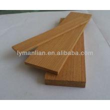 India ama la madera de teca de reconocimiento.