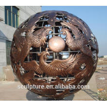 2016 New Phoenix Auspicious Large Outdoor Sphere Ball Sphere Stainless Steel Balls