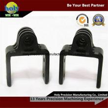Черный Делрин CNC подвергая механической обработке изготовленный на заказ части CNC