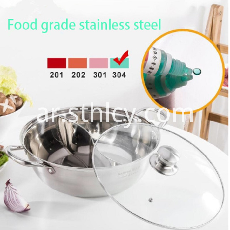 Food Grade Stainless Steel Hot Pot