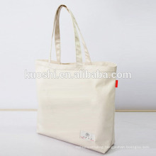 Canvas bag plain for shoppping china manufacture