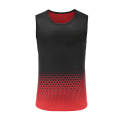 Gilet Dry Fit Soccer Wear Homme Rouge
