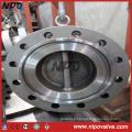 Type de girolet à double bride à double plaque Rtj Valve de retenue de fin