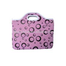 Sacoche pour ordinateur portable pour dames sacs pour ordinateur portable en néoprène avec imprimé en soie logo