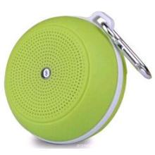 Runde Kunststoff Top-Class Wireless Phone Bluetooth Lautsprecher mit Karabiner (EA12009)