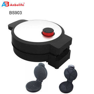 Venta caliente cool touch multifunción placa desmontable snack maker cake maker waffle maker