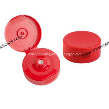 Botella de agua plástica personalizada Válvula de retención unidireccional de tapa