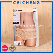 Babydoll lingerie packaging paper box with customized design