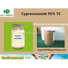 Ciproconazol 95% TC, 10% WDG, 10% SL, 40% SC, fungicida, Nº CAS: 94361-06-5-lq