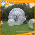 Bola inflable del zorb de la bola del hámster de la bola del hámster material grande divertido más grande para la venta