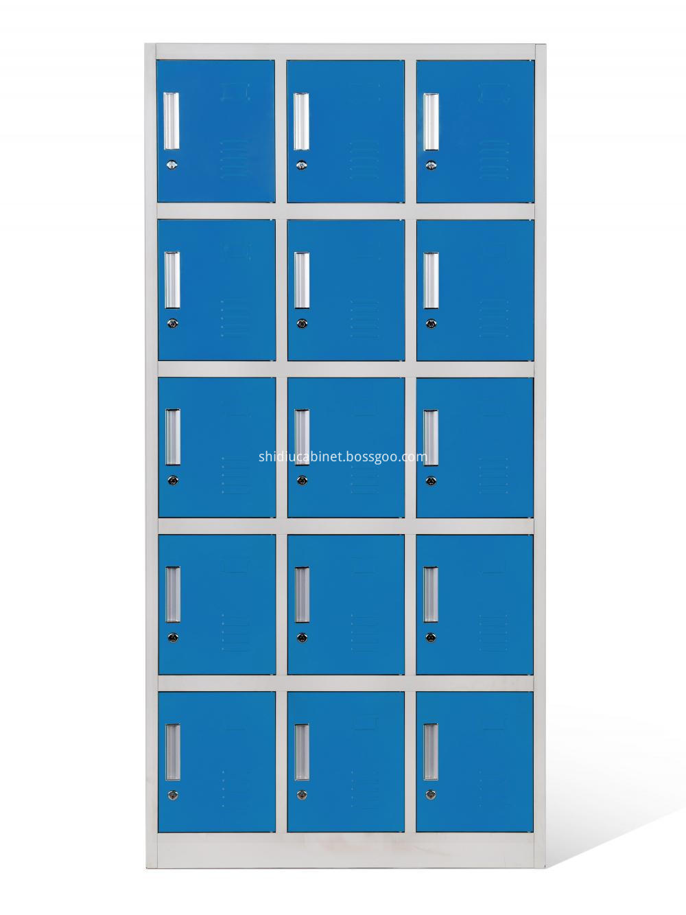 15 Door Metal Lockers