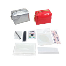 Travel Promotional PU Cosmetic Emergency Bag For lady