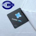 breathable light lining shoe shirt clothing 100% polyester cleancool silver ion anti bacterial waffle fabric