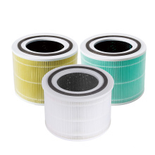 Cheap home H11 H12 H13 H14 cylinder air purifier filters replacement cylindrical hepa filter