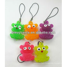 Flashing Yoyo Glow Puffer Ball Phone Chain