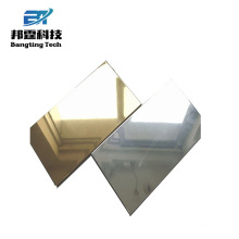 High reflective parabolic mirror polished color mirror aluminum sheet