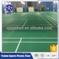 Plancher sportif de PVC de modèle de lichee d'intérieur, plancher de sports de cour de badminton
