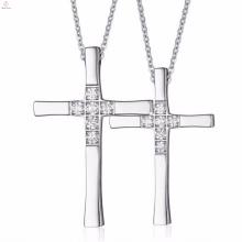 En gros unique Croix 316l en acier inoxydable pendentif bijoux en vrac vente
