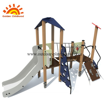 Outdoor Hpl Navy Playgroud Équipement