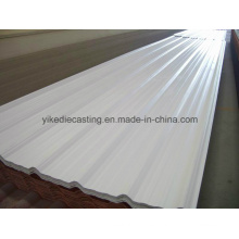 Asapvc, paneles de techo con aislamiento a prueba de corrosión