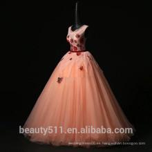 2018 nuevos vestidos de quinceañera por encargo elegante vestido de fiesta tull estilo partido vestidos vestido de Quinceanera ED538