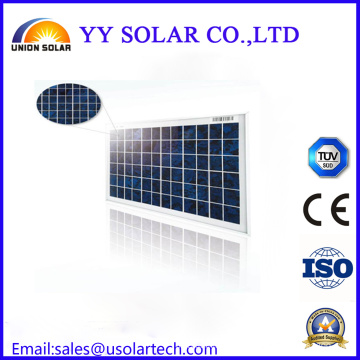 Customized Cheap 10W 20W 30W Colourful Poly Solar Panel