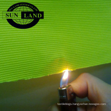functional knitted polyester fire retardant ottoman fabric