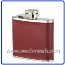 6oz Popular Stainless Steel Travel Wine Hip Flask (R-HF027)