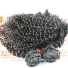 grossiste cheveux brésiliens différents types de extensions de cheveux bouclés weave