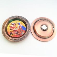 Souvenir Promotion Cendrier en métal personnalisé avec aimant (F5050)