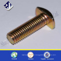 alibaba online shopping carbon steel yellow zinc plated T head bolt