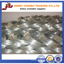 500kg/Coil 16 Gauge Hot Dipped Galvanized Steel Iron Wire Suppliers