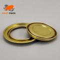 Couvercle / anneau / composants de fond pour boîte de conserve ronde