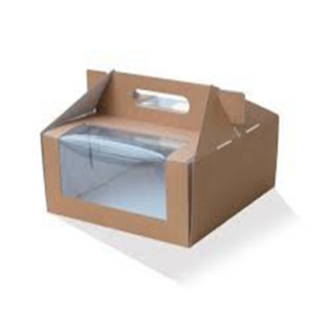 Brown Kraft Cake Boxes Take-away Cake Box