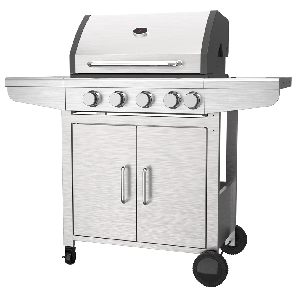 Stainless Steel 4 Burner Gas Grill