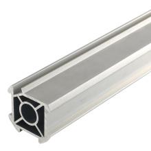Tubo de aluminio con ranura en V para la línea de producción de máquinas