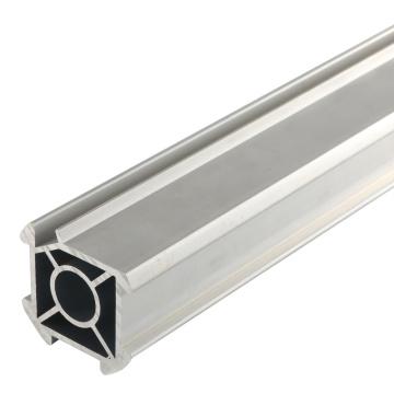 Алюминиевая трубка с V-образным пазом для производственной линии машины