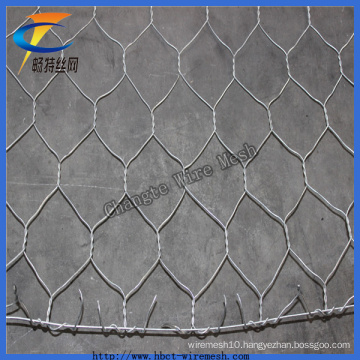 2*1*1best Quality Galvanized Hexagonal Gabion Wire Mesh for River Constructio