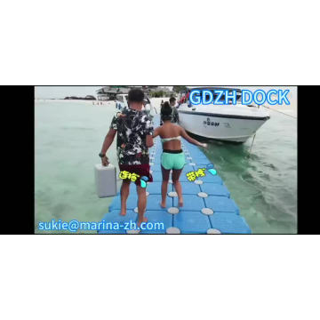 eco-friendly floating river pontoons factory price