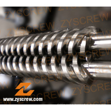 PVC Granules Parallel Twin Barrel and Screw