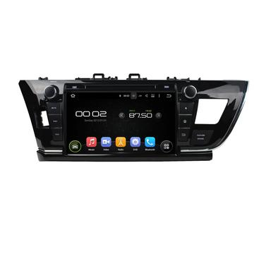 Android 7.1 auto dvd-speler TOYOTA COROLLA