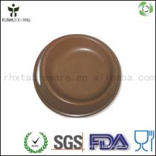 Environmental bamboo fiber pet dog bowl for feeding