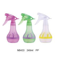 Flacon pulvérisateur en plastique PP pour nettoyage 360ml (NB430)