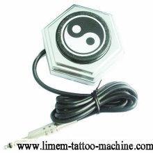 Interrupteur à pédale de pédale de pied acrylique pour la puissance des fusils de machines de tatouage
