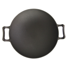 Stir-Fry Cast Iron Chinese Wok for Camping or Kit