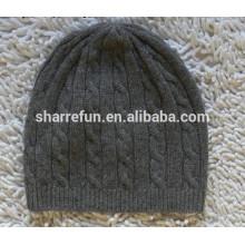 Завод оптовая продажа много стилей 100% зимние вязаные шерстяные шляпы для мужчин