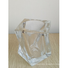 Haonai man blown glass cup high purity whiskey glass tumbler
